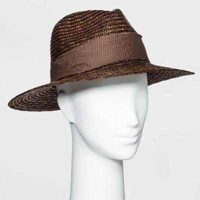 Women's Straw Panama Hat - A New Day™ One Size