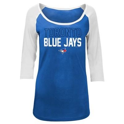 MLB Toronto Blue Jays Women's Play Ball Fashion Jersey