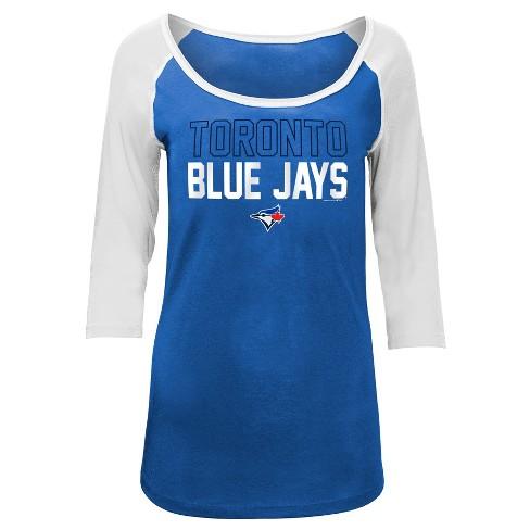 huge discount dac18 26198 Toronto Blue Jays Women's Play Ball Fashion Jersey - S
