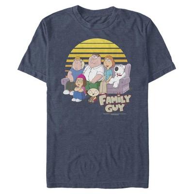 Men's Family Guy Family Portrait T-Shirt