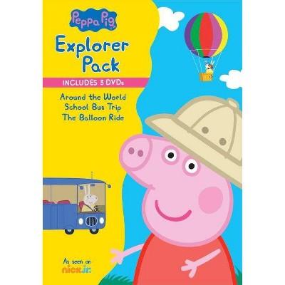 Peppa Pig: School Bus Trip / The Balloon Ride (DVD)(2019)
