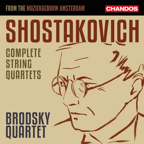 Brodsky Quartet - Shostakovich:Complete String Qts (CD) - image 1 of 1