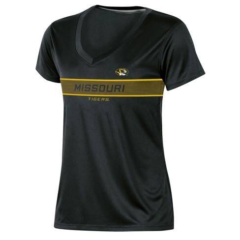 Missouri Tigers Women's Short Sleeve V-Neck Performance T-Shirt - image 1 of 2