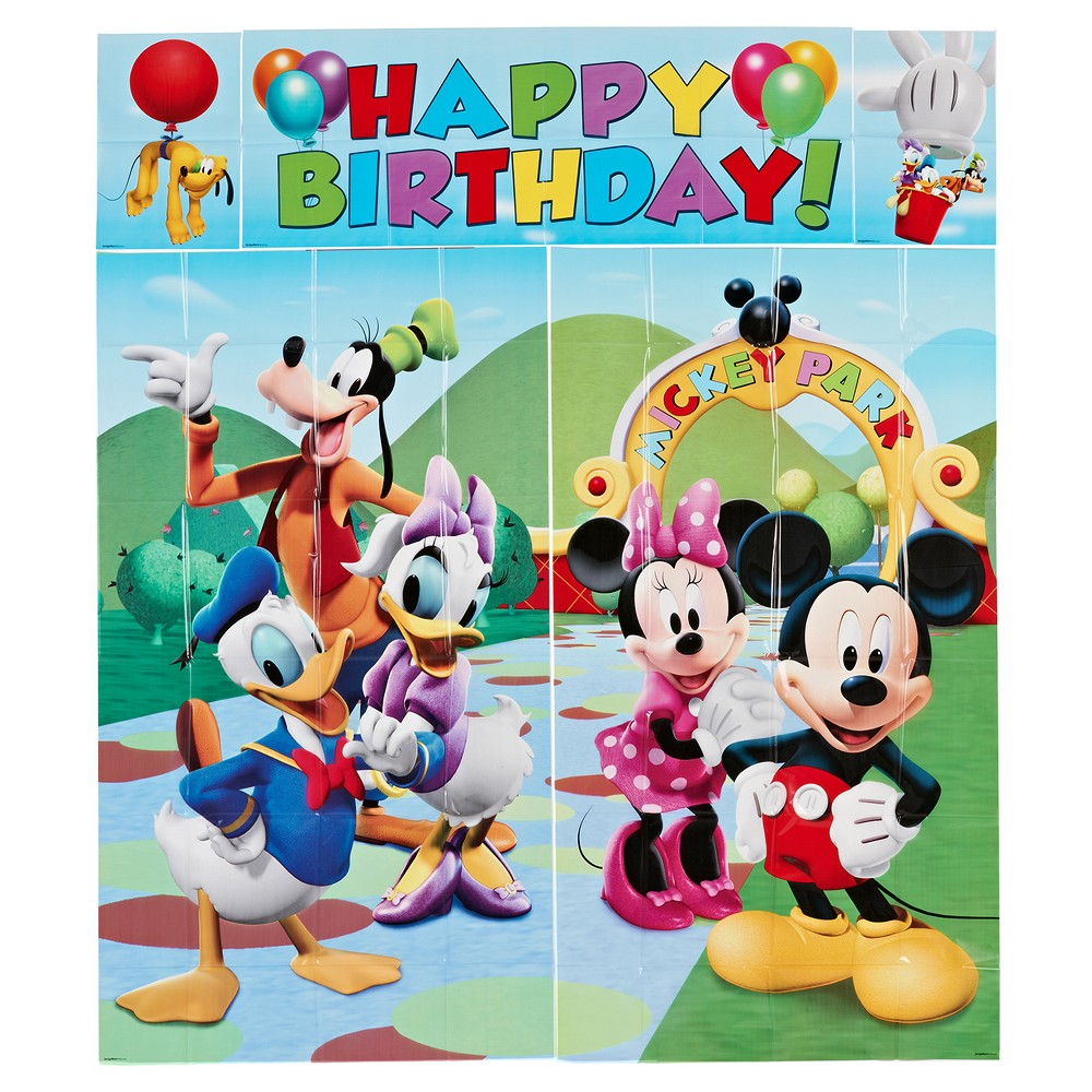 Image of Mickey Mouse Wall Decorations