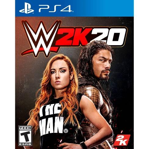 WWE 2K20 - PlayStation 4 - image 1 of 4