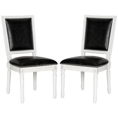 Set of 2 Buchanan Rectangle Side Chair - Safavieh