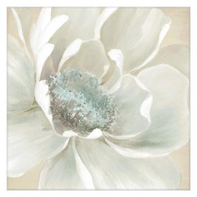 35 x35  Winter Blooms I By Carol Robinson Art On Canvas - Fine Art Canvas