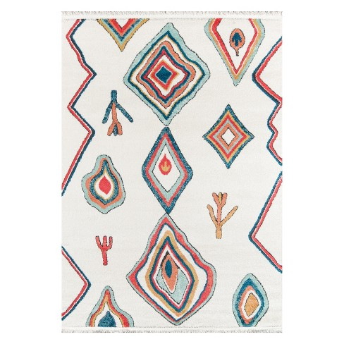 Monaco Ofra Geometric Loomed Accent Rug - Momeni - image 1 of 4