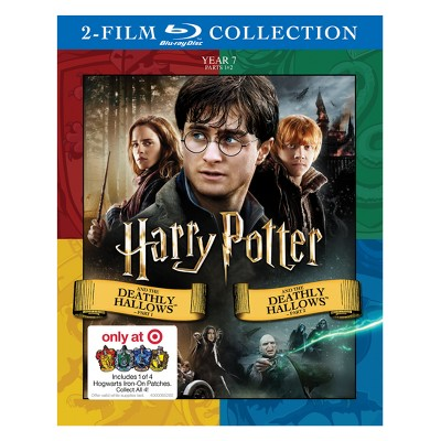 Harry Potter and the Deathly Hallows Part 1 and 2 DBFE (Hogwarts Patch)(Blu-Ray)
