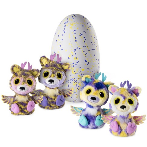 Hatchimals Surprise - Deeriole - Hatching Egg with Surprise Twin Interactive Hatchimal Creatures by Spin Master, Available Exclusively at Target - image 1 of 8