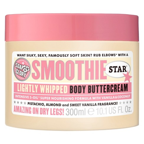 Soap & Glory Smoothie Star Body Buttercream - 10.1oz - image 1 of 3