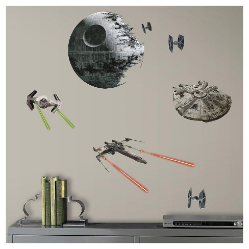 Star Wars 7 The Force Awakens Wall Decal - image 1 of 1