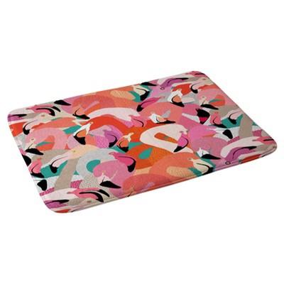 "Flamingos Bath Mat (36""x24"") Pink - Deny Designs"