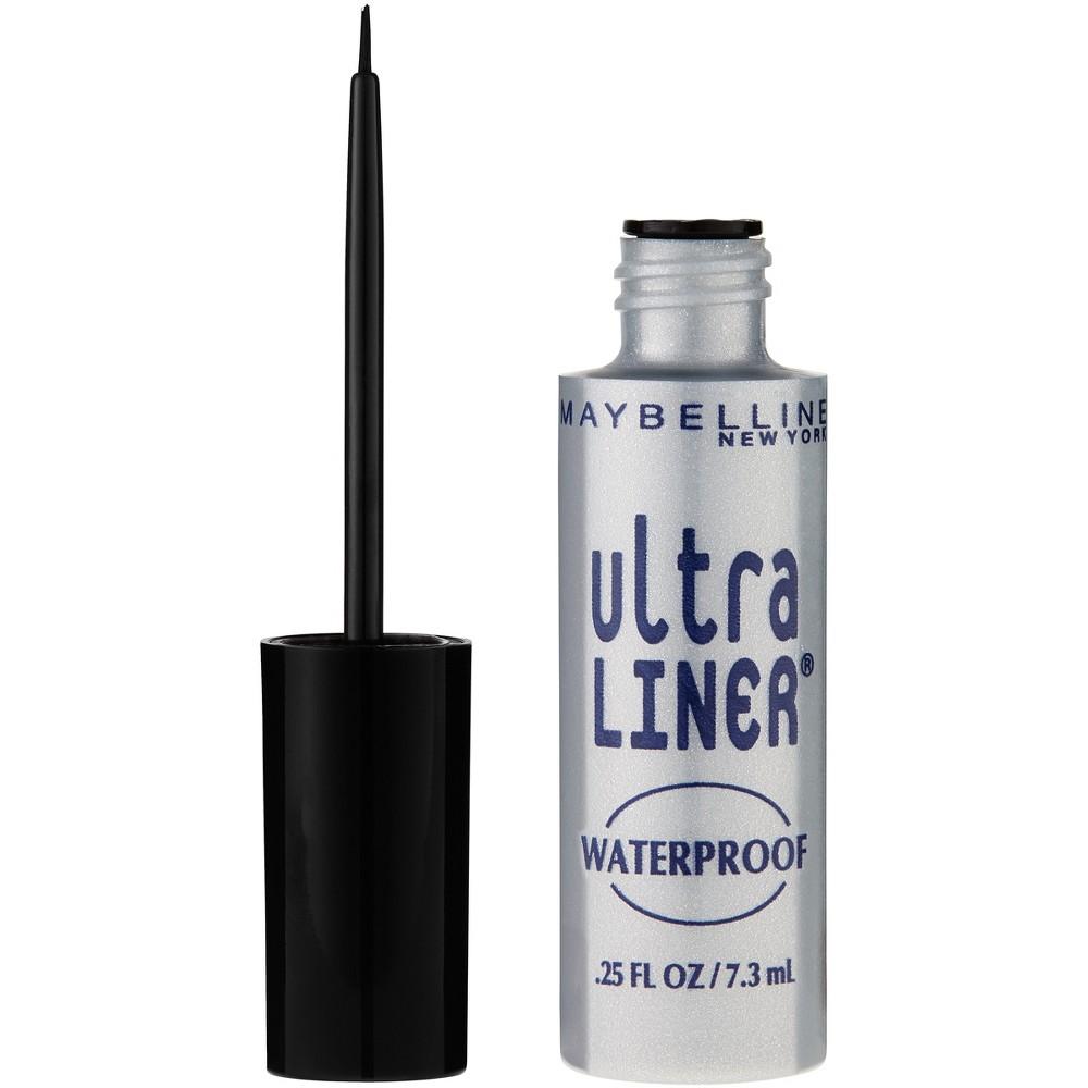 Image of Maybelline Ultra Liner Waterproof Liquid Eye Liner 01 Black 0.25 fl oz, 301 Black
