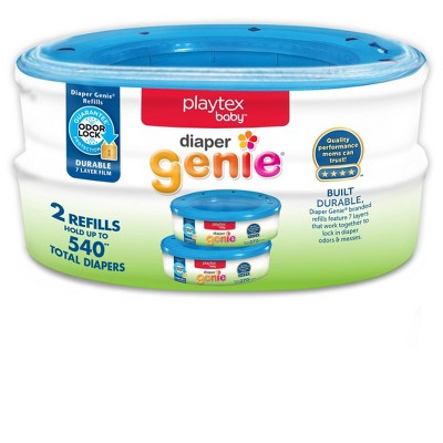 Playtex Baby Diaper Genie Diaper Disposal Pail System Refills 2pk