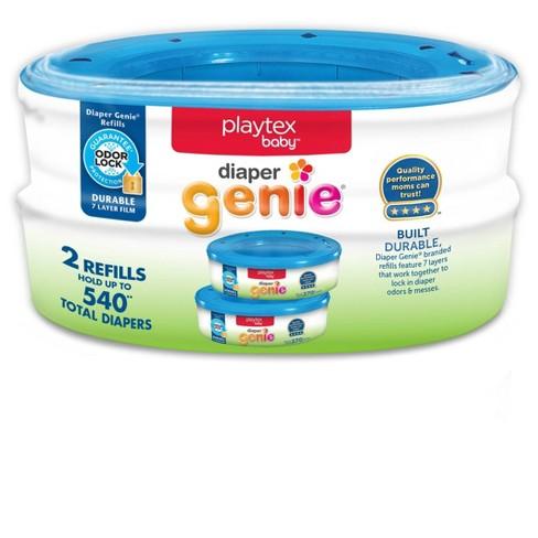 Playtex Baby Diaper Genie Diaper Disposal Pail System Refills 2pk - image 1 of 3