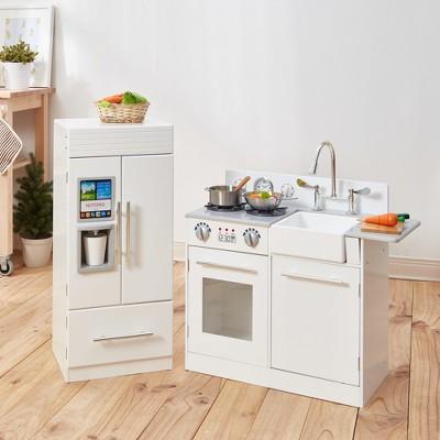 Teamson Kids Urban Luxury Play Kitchen   White : Target