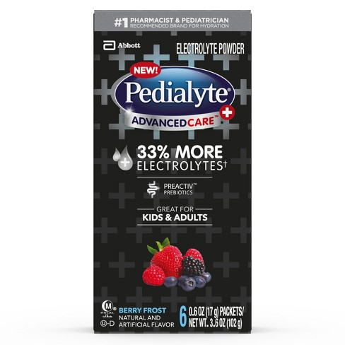 Pedialyte AdvancedCare Plus Powder Berry Frost - image 1 of 4