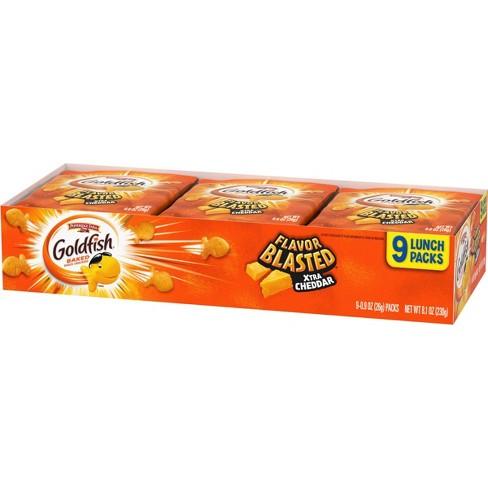 Goldfish Flavor Blasted Xtra Cheddar Crackers Multipack Tray - 8.1oz - Pepperidge Farm - image 1 of 4