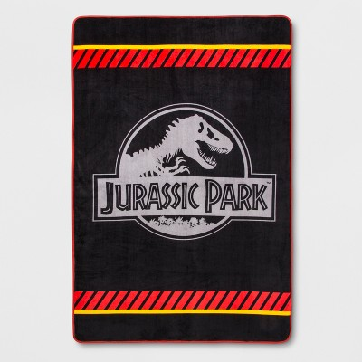 Jurassic World Prehistoric Times Bed Blanket and Storage Bin
