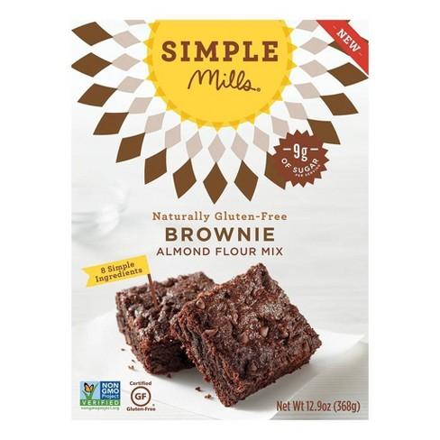 Simple Mills Brownie Almond Flour Mix - 12.9oz - image 1 of 2