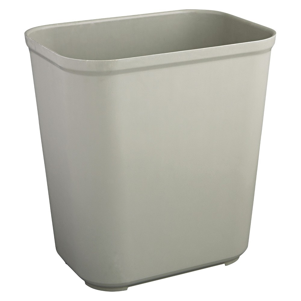 Rubbermaid No-Lid Trash - Gray