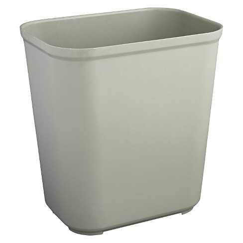Rubbermaid® No-Lid Trash - Gray - image 1 of 1