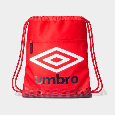 41045622106239 Umbro Heritage Boys Drawstring Bag - Red   Target