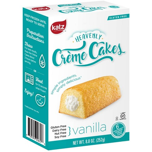 Katz Gluten Free Heavenly Creme Cakes Vanilla  - 8.8oz - image 1 of 3