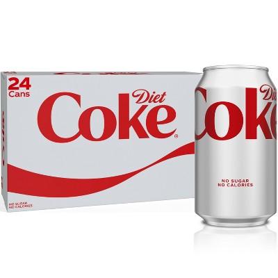 Diet Coke - 24pk/12 fl oz Cans