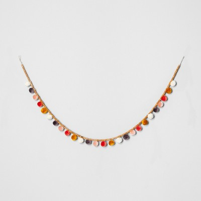 Wood Bead & Pom Garland - Opalhouse™