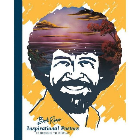 Bob Ross Inspirational Posters - (Paperback) - image 1 of 1