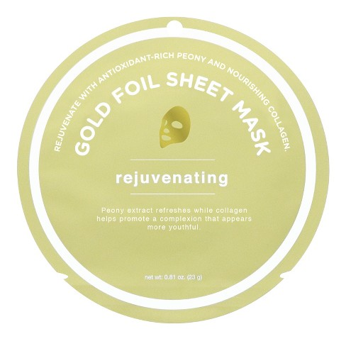 My Spa Life Rejuvating Gold Foil Sheet Mask - 0.81oz - image 1 of 2