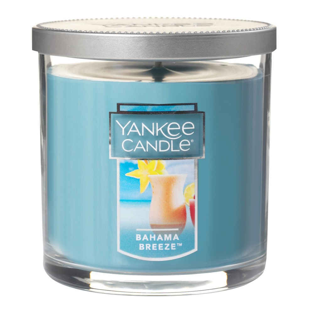 Yankee Candle - Bahama Breeze Regular Tumbler Candle 7oz, Blue