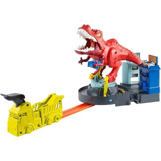 Hot Wheels T-Rex Rampage Playset