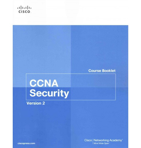 CCNA Security Course Booklet Version 2 (Paperback) - image 1 of 1