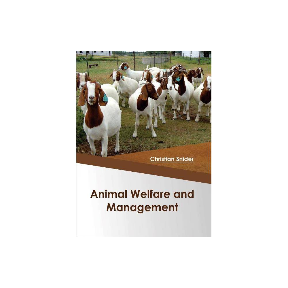 Animal Welfare and Management - (Hardcover)