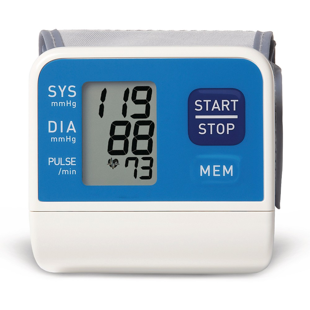 Automatic Wrist Blood Pressure Monitor - Up&Up