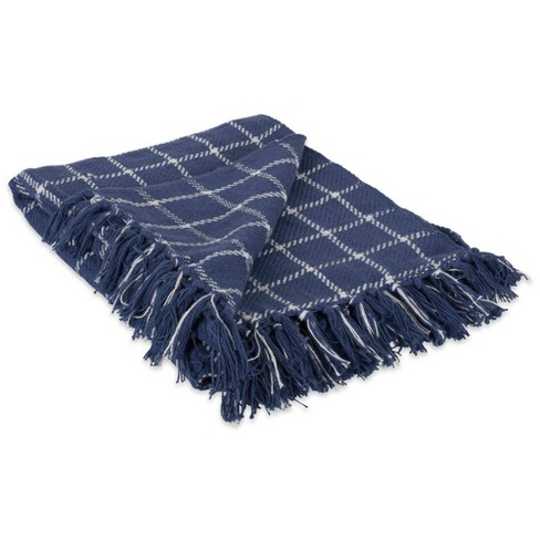 Checked Plaid Throw Blanket - Design Imports - image 1 of 4