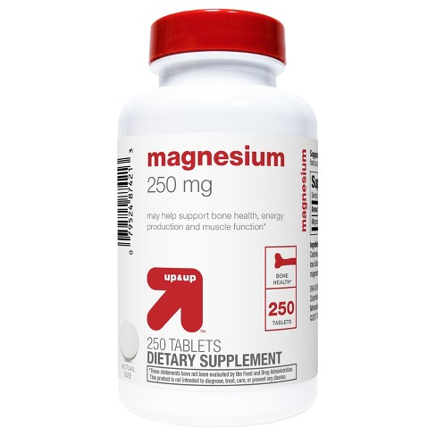 Magnesium Dietary Supplement Tablets - Up&Up™ - image 1 of 2