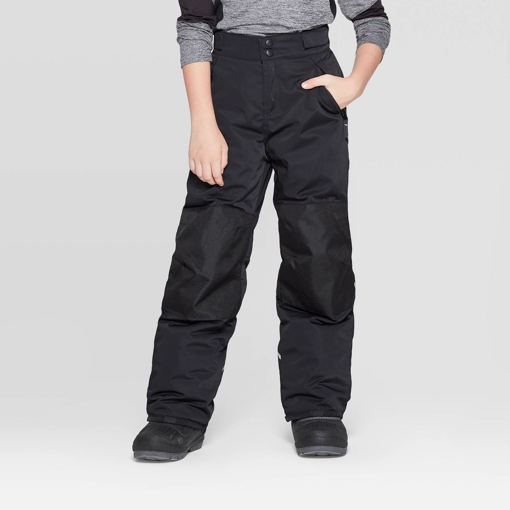 Image of Boys' Snow Pants - C9 Champion Black M, Boy's, Size: Medium