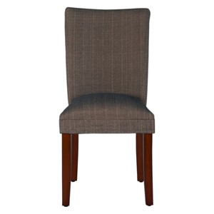 Parsons Dining Chair - Brown - HomePop