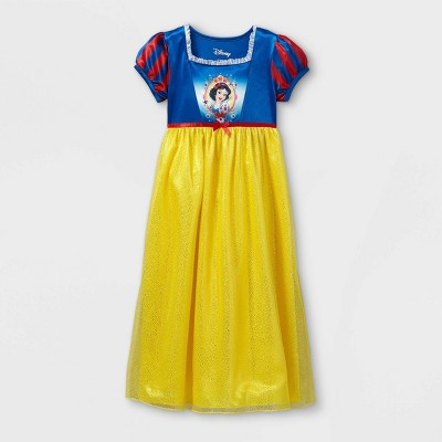 Girls' Disney Princess Snow White Nightgown - Blue