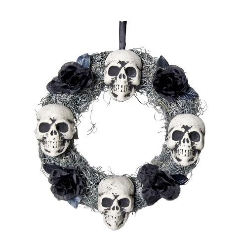Halloween Skull Wreath - image 1 of 2