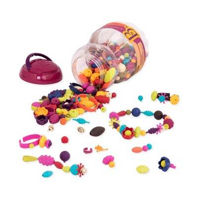 B. toys – Jewelry Kit for Kids – 500 Beads – Pop-Arty!