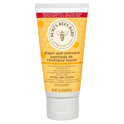 Burt's Bees Baby Bee 100% Natural Diaper Rash Ointment - 3oz