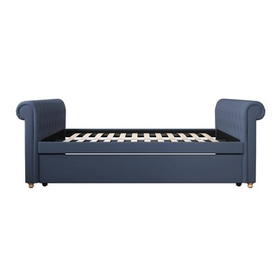 Shelly Upholstered Queen Daybed/Full Trundle - Room & Joy
