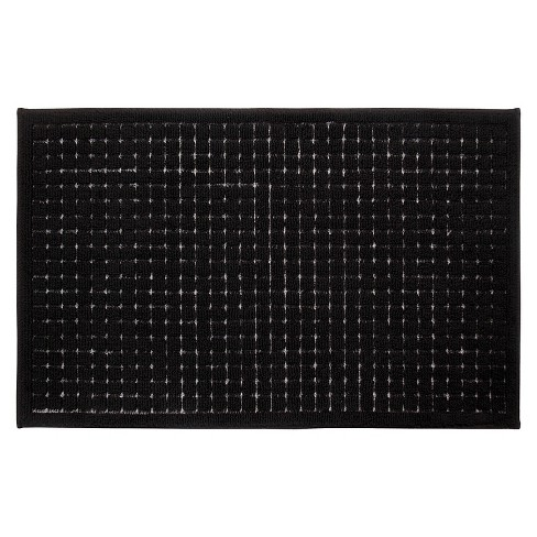 Grid Kitchen Rug Black Room Essentials Target