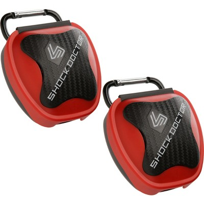 Shock Doctor 2-Pack Mouthguard Case - Red