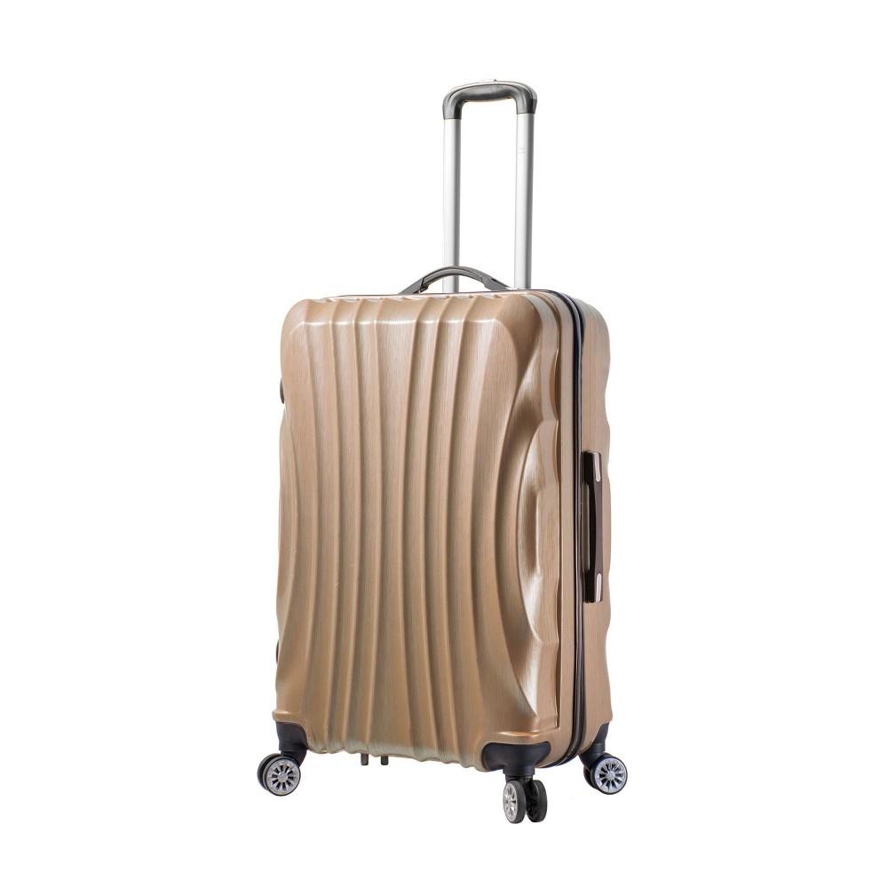 "Image of ""Mia Viaggi ITALY Bari 28"""" Hardside Suitcase - Champagne, Beige"""